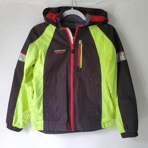 London Fog 54E 18 Wind Rain Hooded Jacket